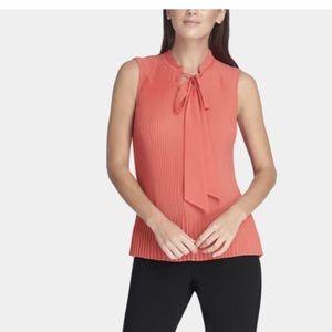 NWT DKNY Sleeveless Blouse $59